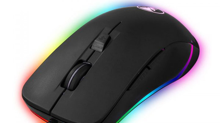 Volkano Ripple RGB Mouse For Work/Gaming - Black