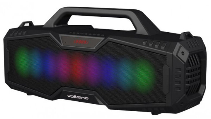Volkano Cylon Series Bluetooth Speaker With RGB Lighting