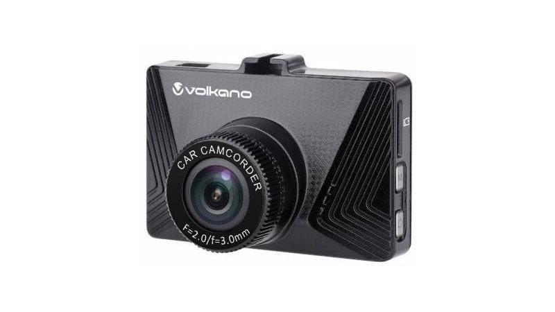 Volkano VK10007BK Suburbia Series Black 720P Dash Camera