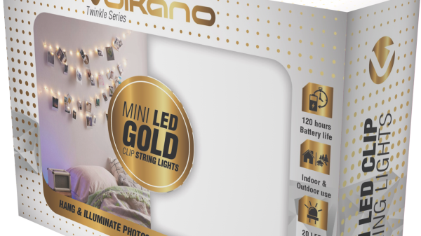 Volkano Twinkle Series Photo Clips with LED Lights