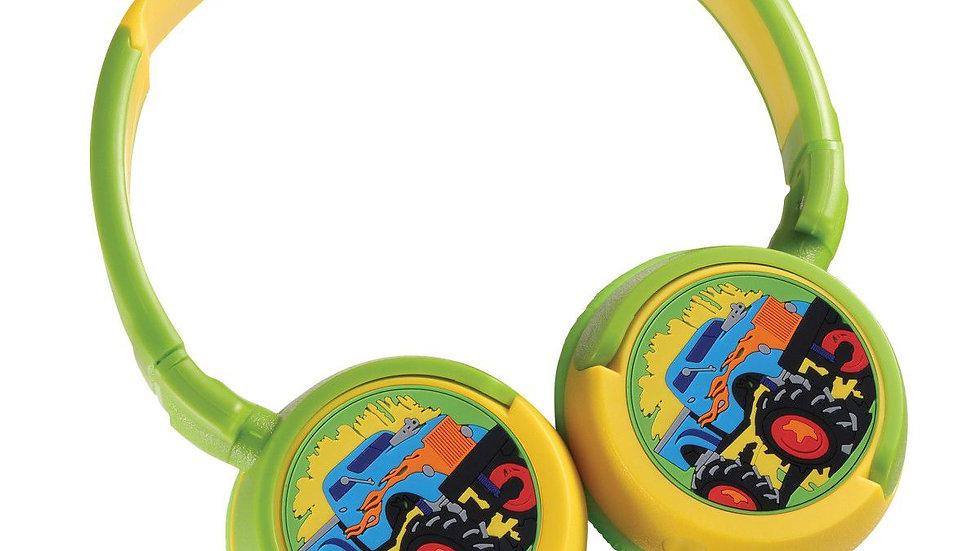 Bounce Kiddies Headphones - Boys Monster Truck