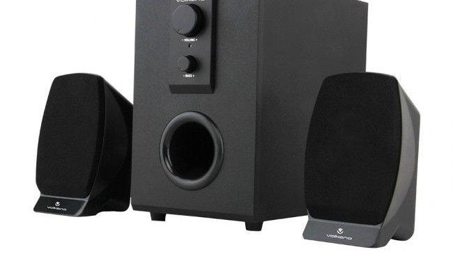 Volkano Meteor Series 2.1 Speaker System - Black