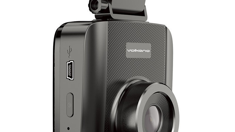Volkano Traffic series 720p Dash Camera - Black