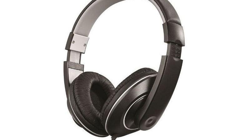 Amplify Groove Headphones - Grey/Black