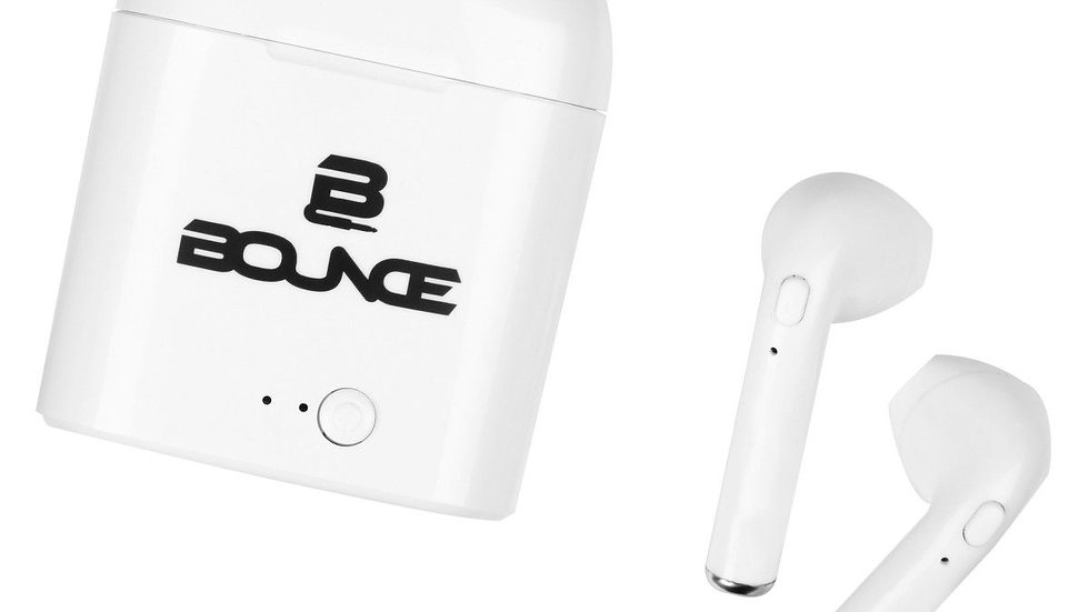 Bounce Clef Series TWS Earphone Pods - White