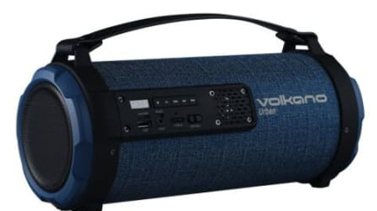 Volkano Urban Series Fabric Tube Bluetooth Speaker