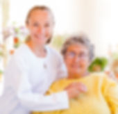 elderly women with her loving companion care Bloomington, MN in home senior care