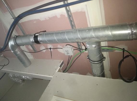 Pose ventilation (chambres)
