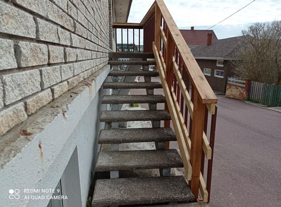 Réparation d'escalier