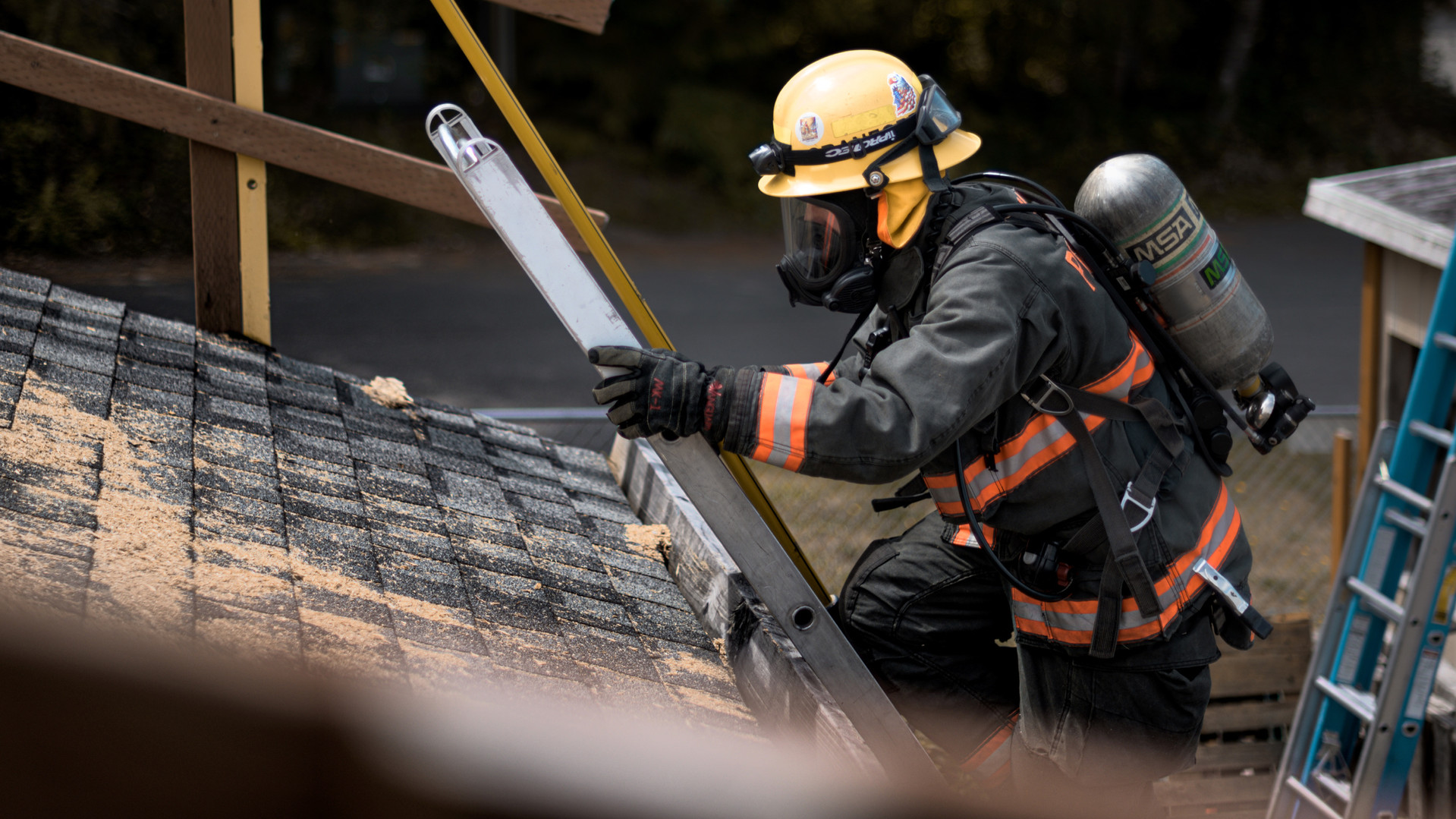 Firefighter Training- vent