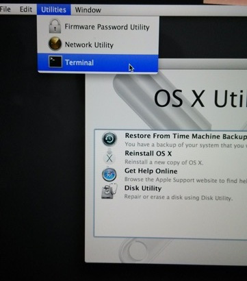 Apple Time Machine Recovery Mode and T4 RAID