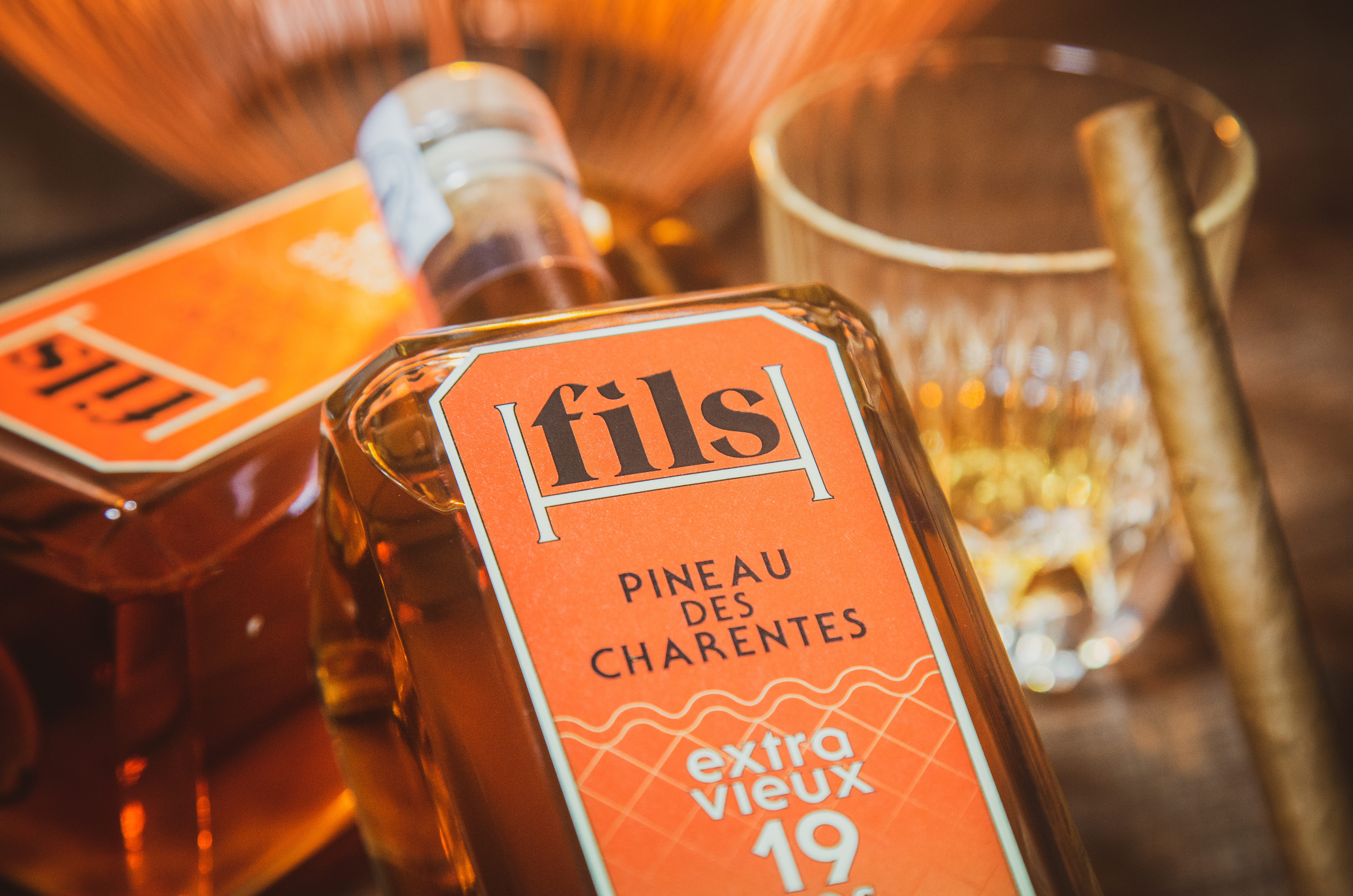 "Photographie Shooting ""Packshot"" Pineau des Charentes"