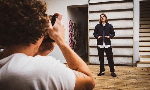 Tournage vidéo shooting mode backstage Verlan Paris