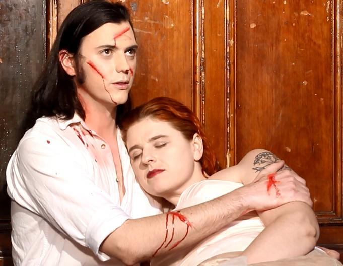 Robert and Desdemona After