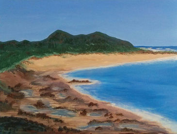J B Howard Hawaii Beach Acrylic.jpg