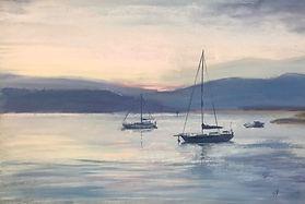 Redland Bay - aquarel