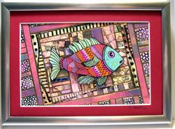 PAPER ART MOSAIC FISH