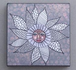 JO gray flower face