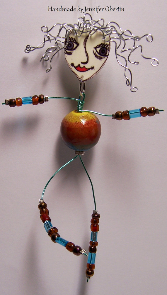 BEAD ART DOLL
