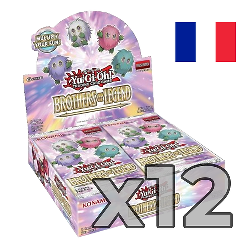 Boîte de boosters 'Frères de légende' (Fr) x12 (75,8€/u)