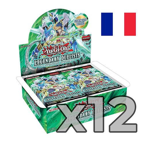 Boîte de boosters 'Duellistes Légendaires - Synchro Storm' (Fr) x12 (51.90€/u)