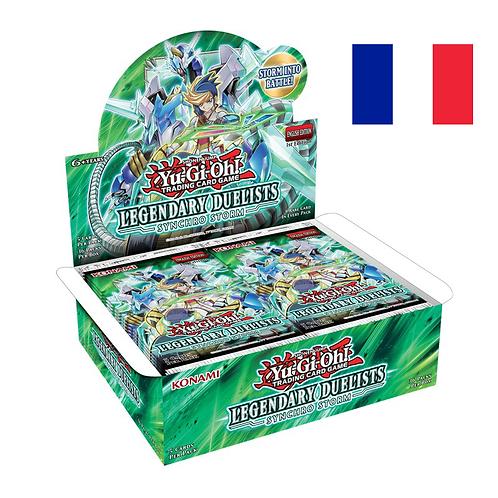 Boîte de boosters 'Duellistes Légendaires - Synchro Storm' (Fr)