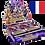 Thumbnail: Boîte de boosters King's Court (Fr)