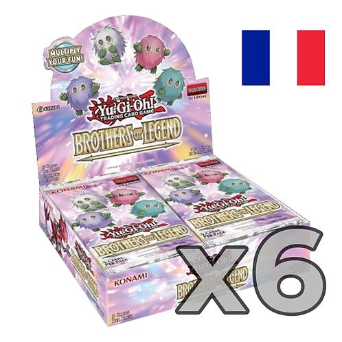 Boîte de boosters 'Frères de légende' (Fr) x6 (76,8€/u)