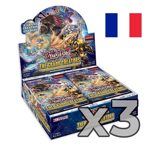 Boîte de boosters 'Les Grands Créateurs' (Fr) x3 (77,8€/u)