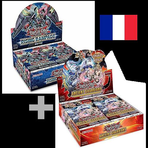 Pack boîtes de boosters Le Soulèvement de la Fureur + Anciens Gardiens(Fr)