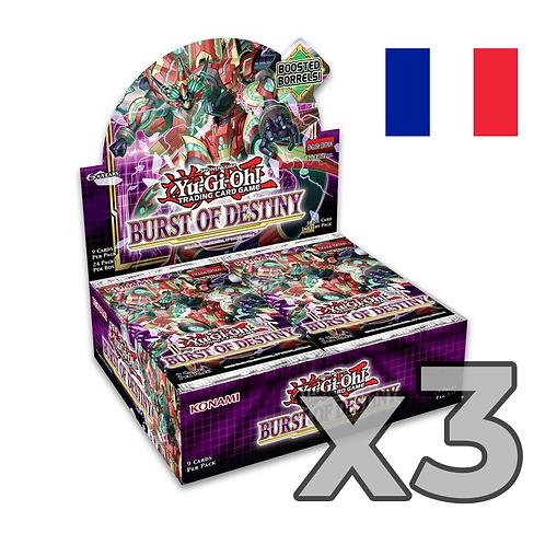 Boîte de boosters 'Explosion de la destinée' (Fr) x3 (77,8€/u)
