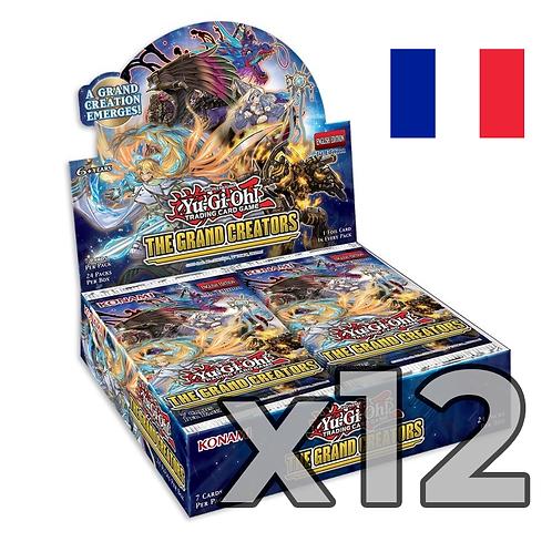 Boîte de boosters 'Les Grands Créateurs' (Fr) x12 (75,8€/u)