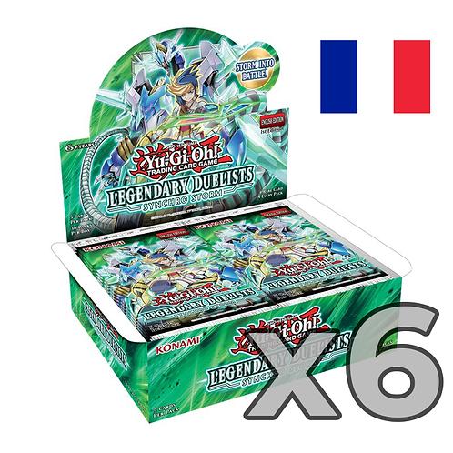 Boîte de boosters 'Duellistes Légendaires - Synchro Storm' (Fr) x6 (52.90€/u)