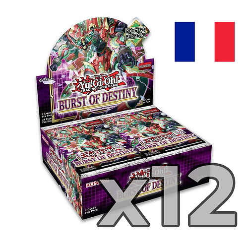 Boîte de boosters 'Explosion de la destinée' (Fr) x12 (75,8€/u)