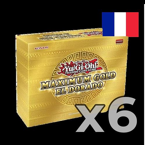 Coffret Maximum Gold - El Dorado x6 (22,50€/u)