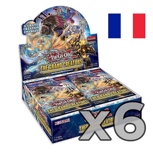 Boîte de boosters 'Les Grands Créateurs' (Fr) x6 (76,8€/u)