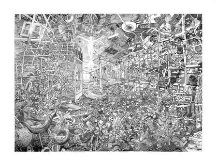 New exhibition : Flood Story at Drawing Projects UK