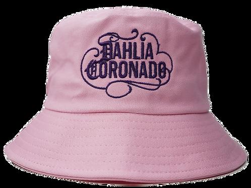 Dahlia Coronado Pink Bucket Hat