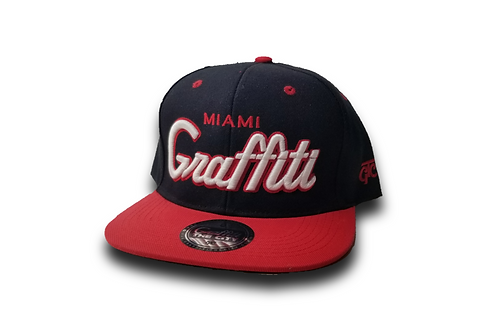 MIAMI GRAFFITI BLACK & RED