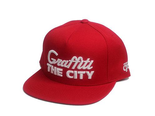 GRAFFITI THE CITY - HOMETOWN - RED