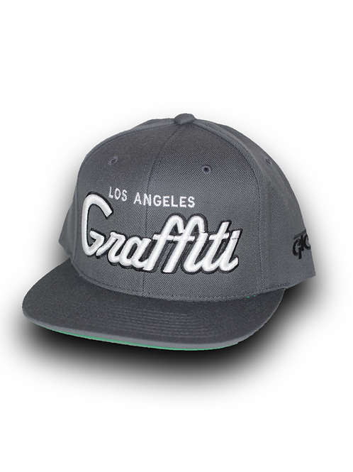 LOS ANGELES GRAFFITI - DARK GRAY -