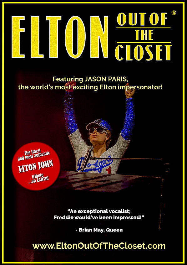 Elton Out Of The Closet - A3 Poster 3.jp