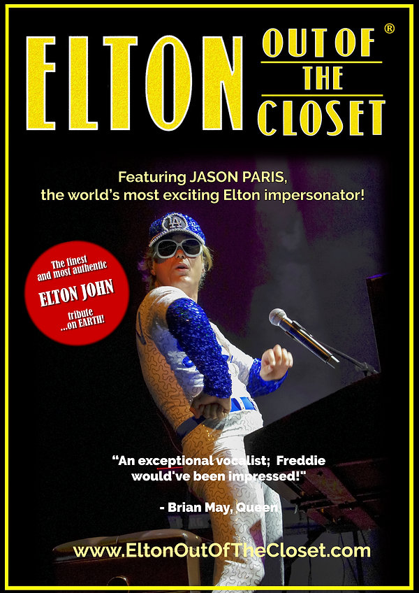 Elton Out Of The Closet - A3 Poster 4.jp