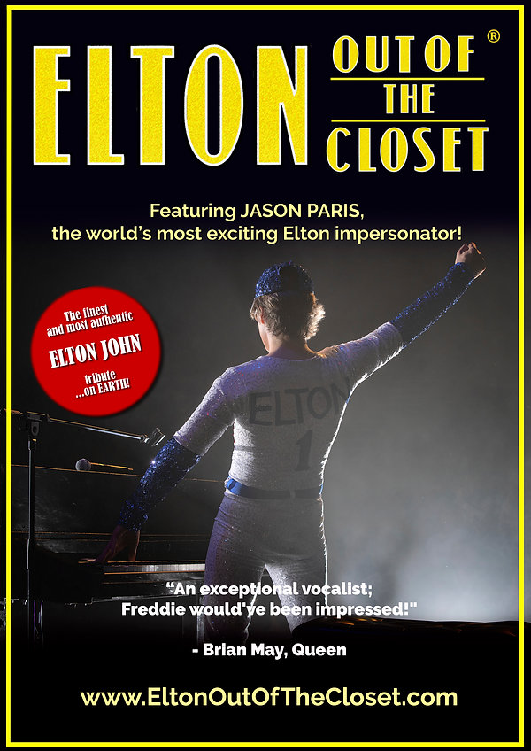 Elton Out Of The Closet - A3 Poster 2.jp