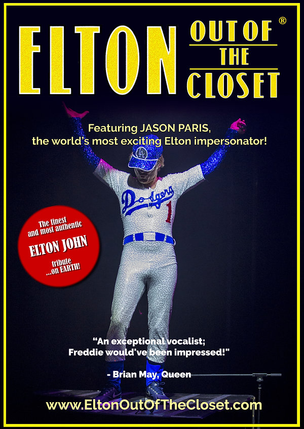 Elton Out Of The Closet - A3 Poster 1.jp