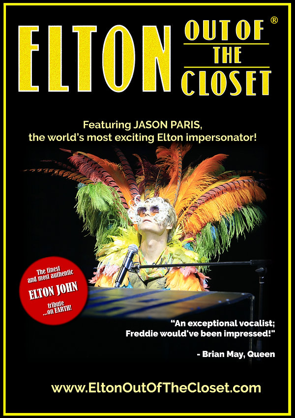 Elton Out Of The Closet - A3 Poster 5.jp