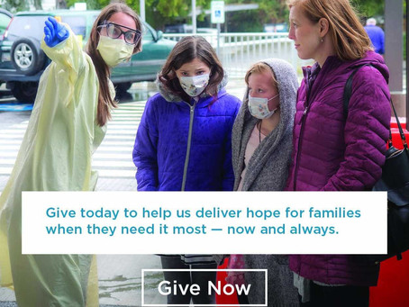 Seattle Children's needs your help today — your gift is matched 2X
