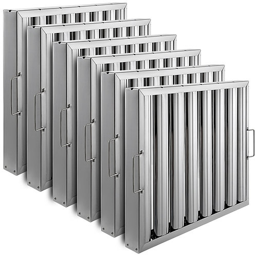 Stainless Steel Baffle Type Grease Filter