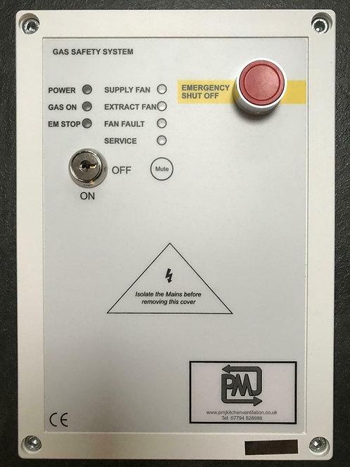Gas Interlock Panel System CT1250 Current Monitoring
