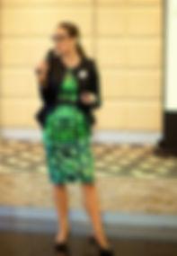 Fashion Keynote Presenter Personal Stylist